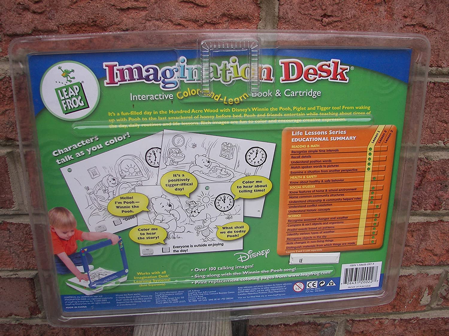 amazon com leap frog imagination desk interactive color and learn
