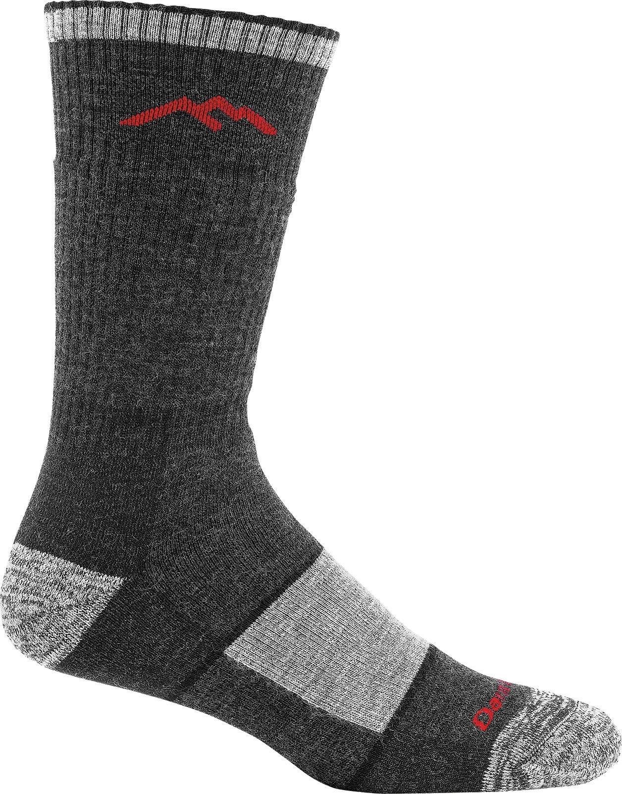 Darn Tough Merino Wool Boot Sock Full Cushion,Black,Large by Darn Tough