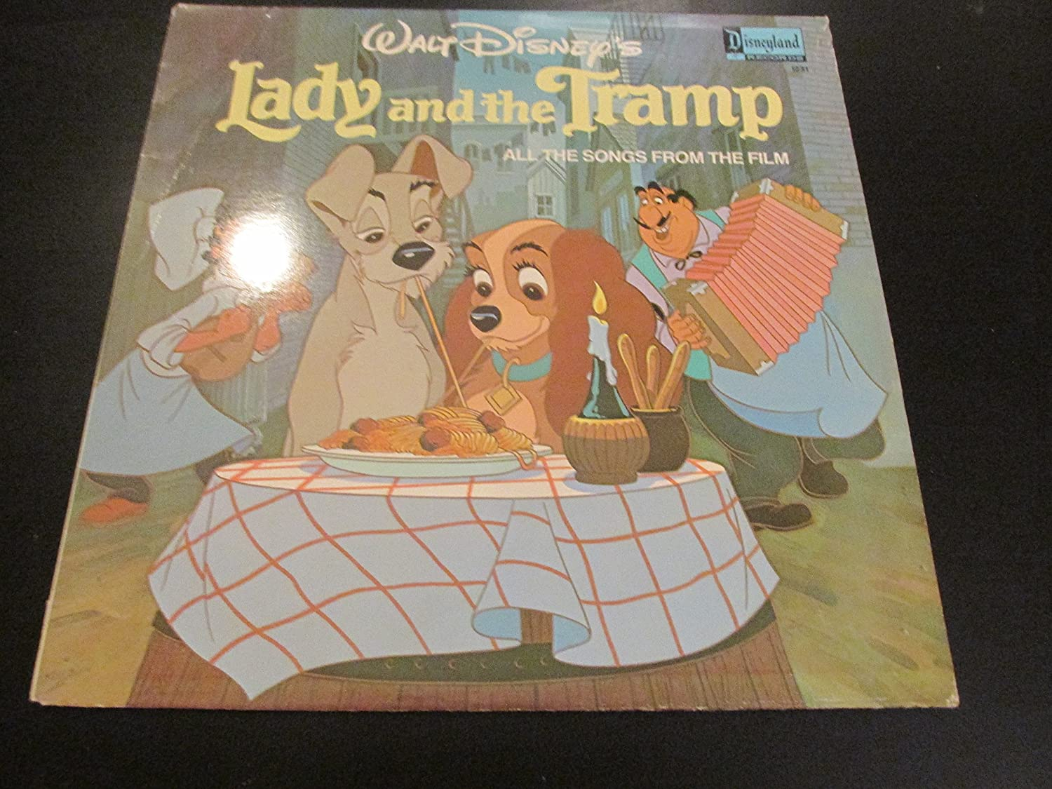 Peggy Lee Sonny Burke Tutti Camaratta Walt Disney S Lady And The Tramp All The Songs From The Film Vinyl Lp Amazon Com Music