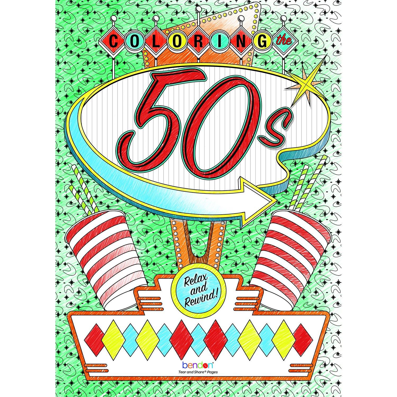 Amazon.com: Bendon 16929 The 80\'s Advanced Coloring Book: Toys & Games