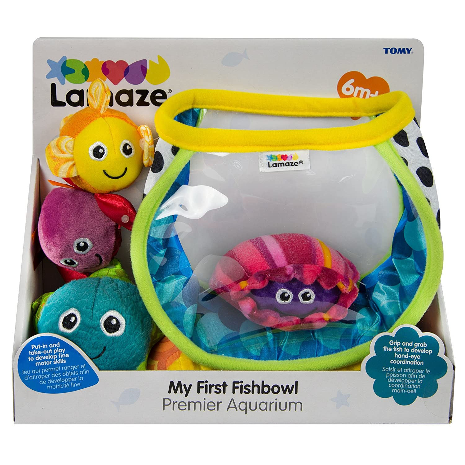 Amazon Lamaze My First Fishbowl Sorting And Stacking Baby