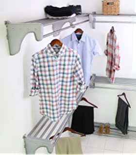 EZ SHELF   Expandable Walk In Closet Kit. Up To 30.8 Ft. Hanging