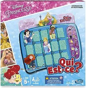 Hasbro Juego de reflexión ¿Adivina quién Juego Indovina Chi (¿Quién es quién?) - Princesas varié: Amazon.es: Juguetes y juegos