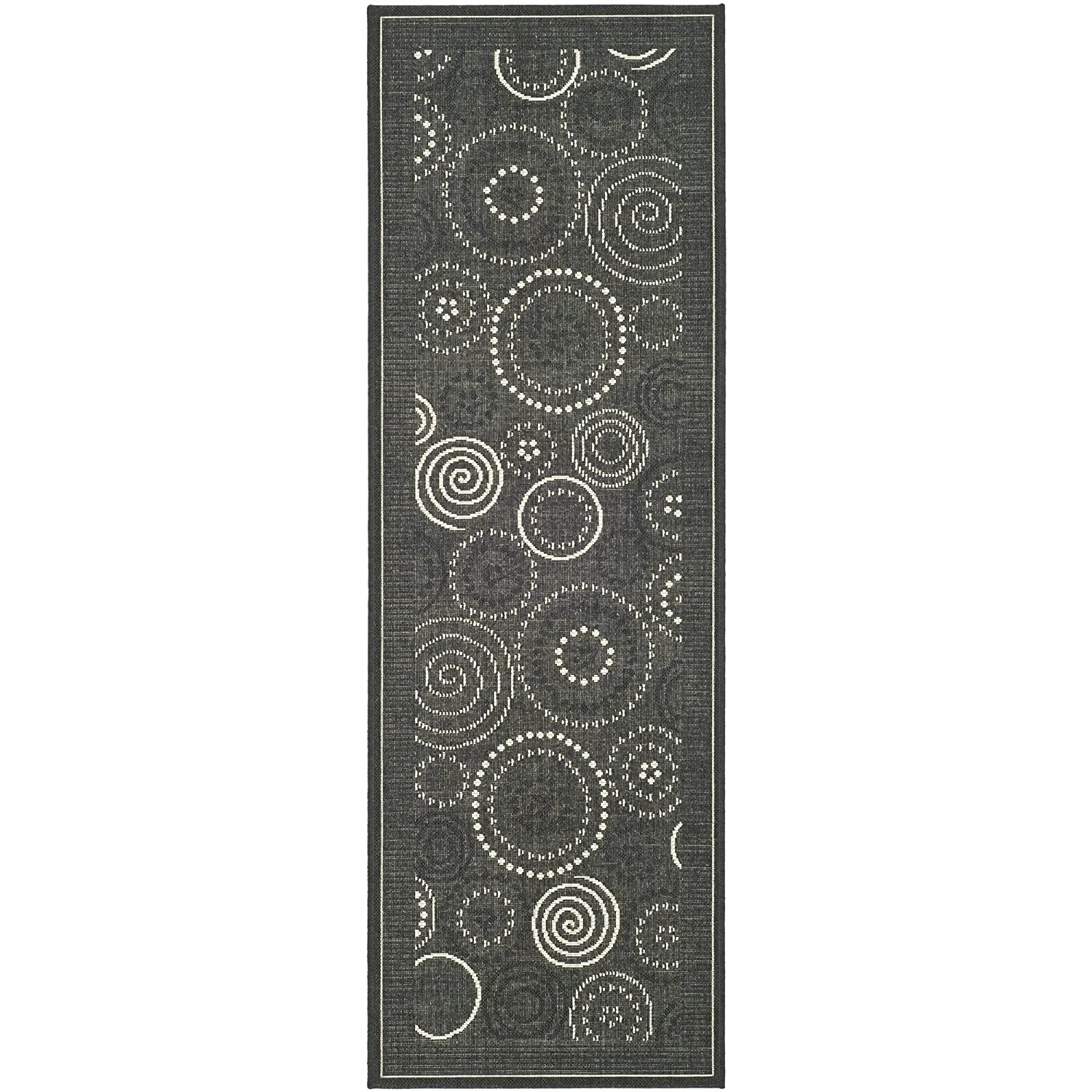 Amazon Safavieh Courtyard Collection CY1906 3908 Black and