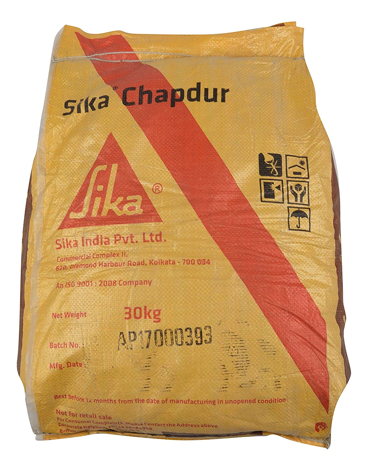 Sika Cement Powder Grey Chapdur, 30 Kg: Amazon in: Industrial