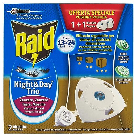 8 opinioni per Raid Night & Day Trio- 2 Ricariche