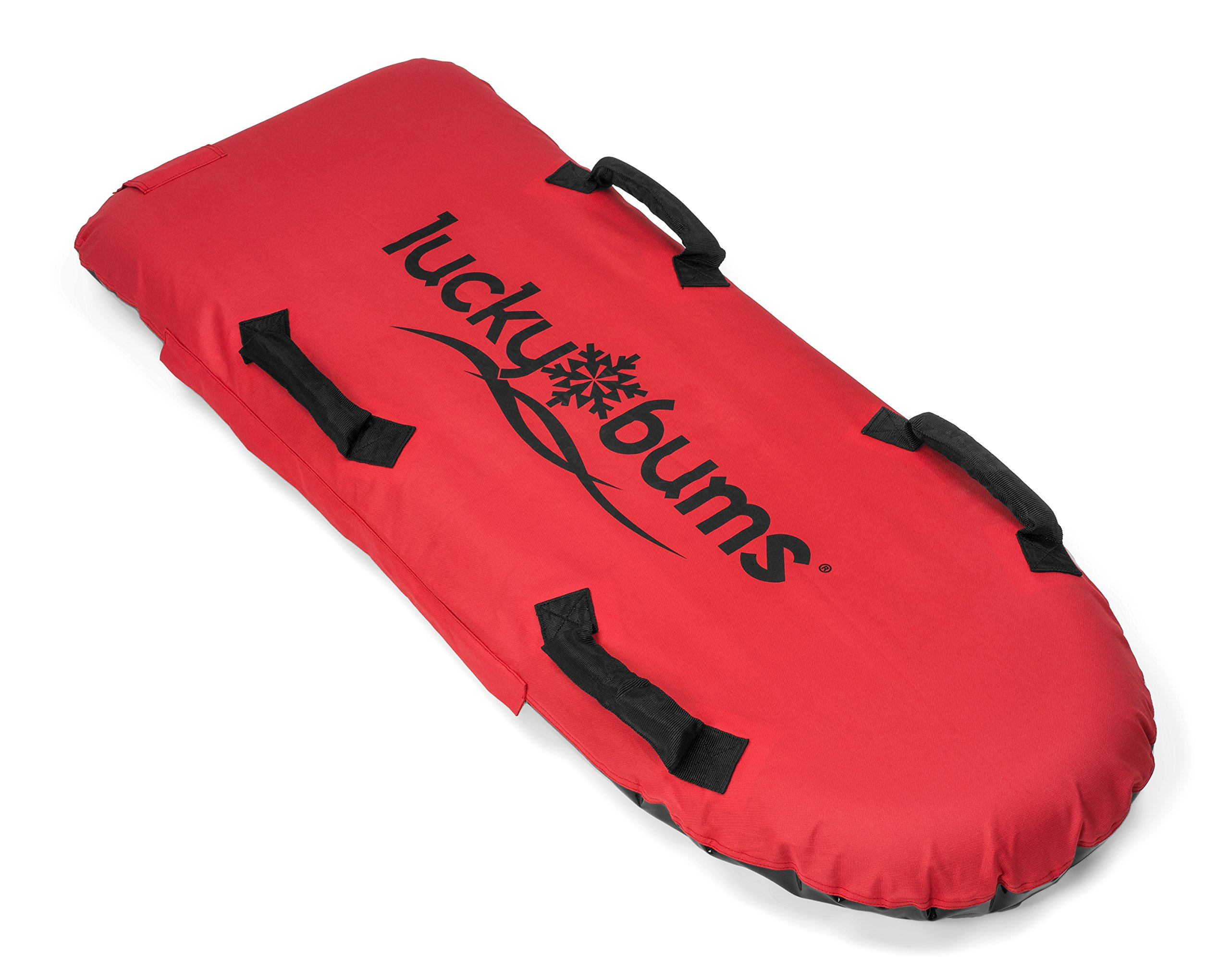 Lucky Bums The Big Air Inflatable Sled, Red, One Size