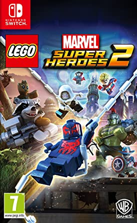Lego Marvel Super Heroes 2 Nintendo Switch Amazon Es Videojuegos