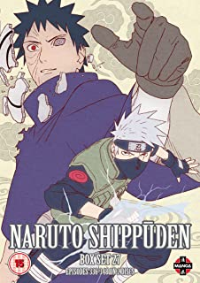 Image result for naruto shippuden box set 27 dvd uk