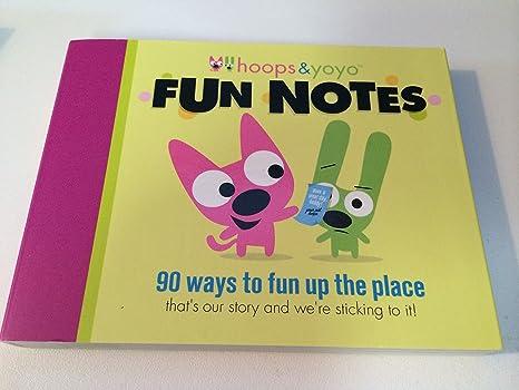 Amazon.com: Hallmark – Tarjeta de Hoops & Yoyo 90 Fun Notas ...