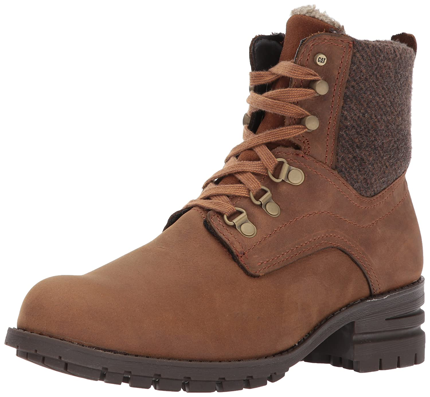 Caterpillar Women's Taylor Waterproof Boot B01N0XVDU9 6 B(M) US|Womens Brown Sugar