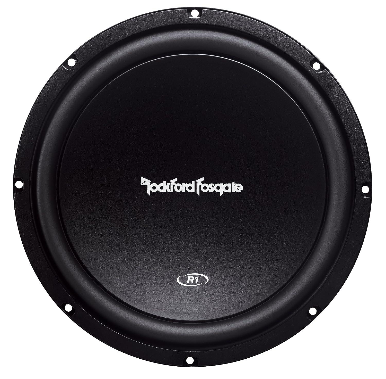 Amazon.com: Rockford Fosgate Prime R1S412 R1 12-Inch 150 Watt Subwoofer - 4  Ohm: Car Electronics