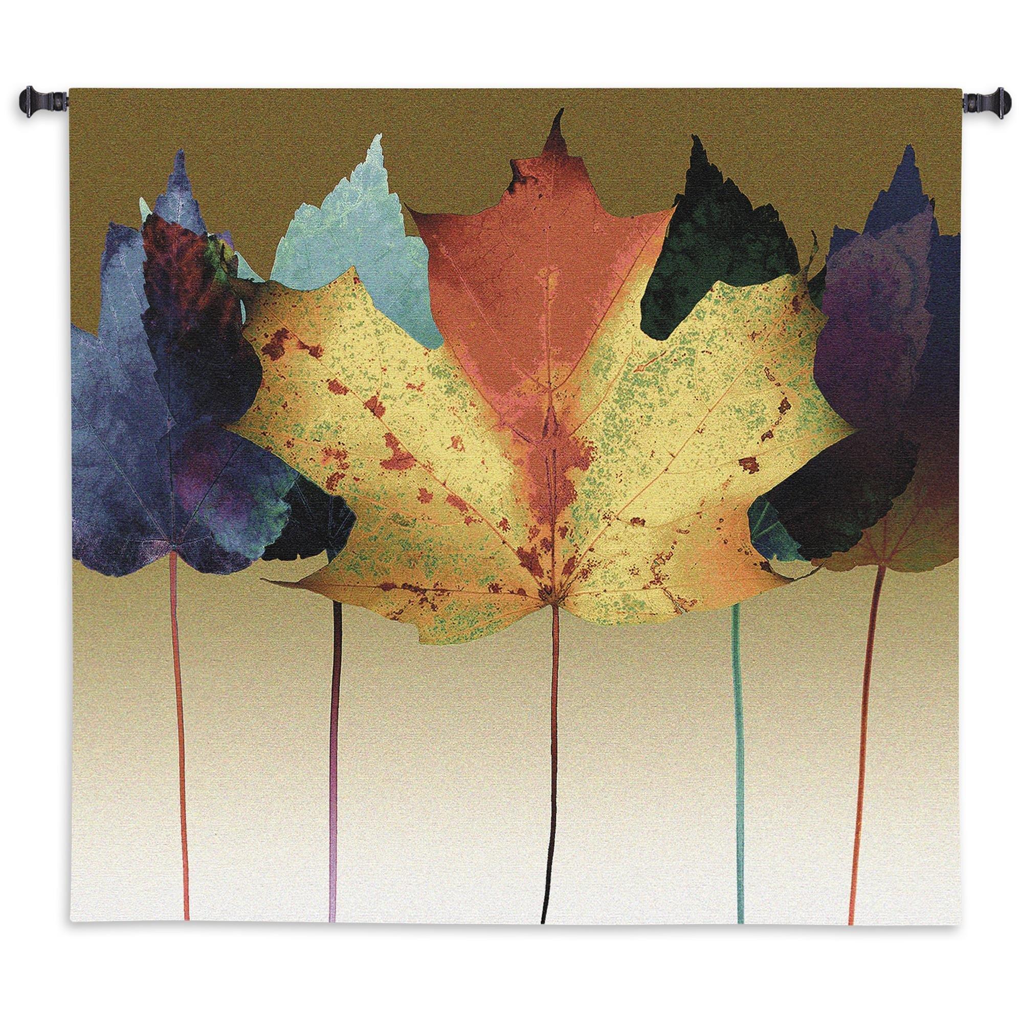 Fine Art Tapestries Leaf Dance Wall Tapestry