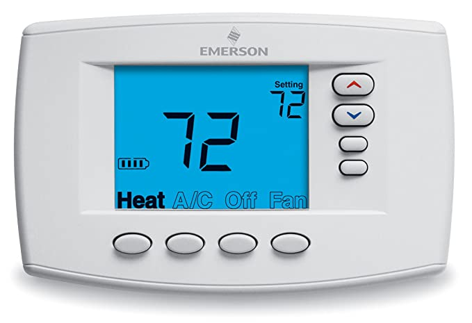 Emerson 1F95EZ-0671 Easy-Reader 7-Day Programmable Thermostat ...