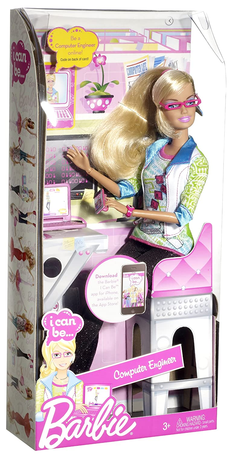 barbie i can be computer engineer doll amazoncouk toys games computer engineer responsibilities - Computer Engineering Responsibilities
