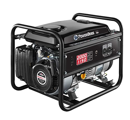 PowerBoss 30665 Portable Generator, 2000 Starting Watts 1150 Running Watts
