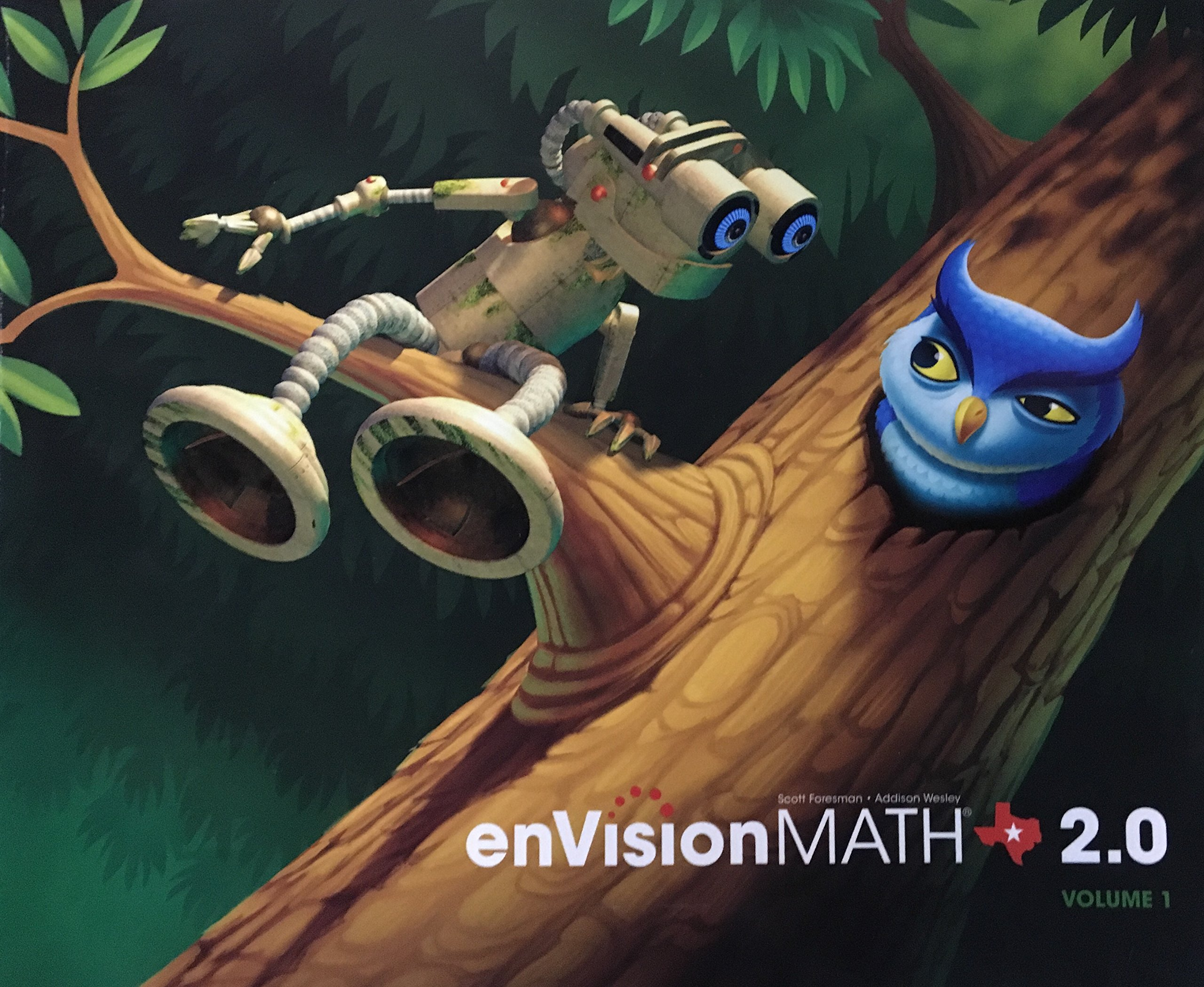 Download enVision Math 2.0, Grade 1, Volume 1, Texas State Edition, 9780328767205, 0328767204, 2015 pdf