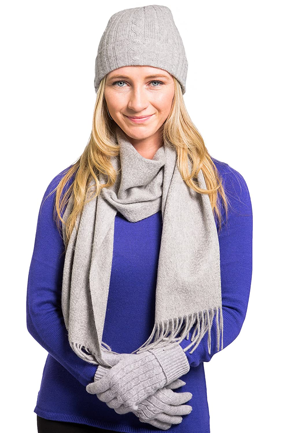 62e9e8d2454 HIGH QUALITY FASHION  This 3 Piece Set is made with 100% pure cashmere  wool. Our cashmere is made from grade A