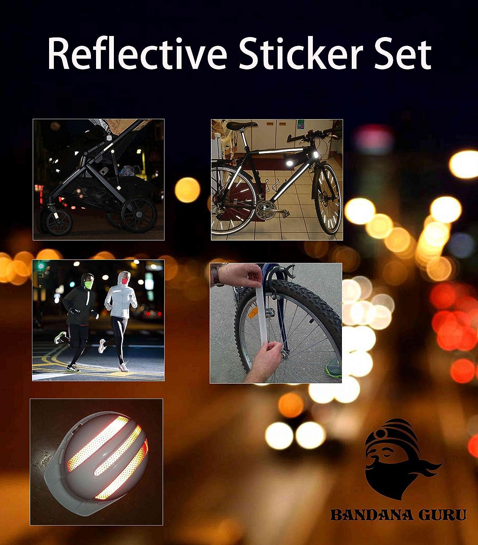 Juego de reflectores adhesivos (13 Unidades) para cochecito ...