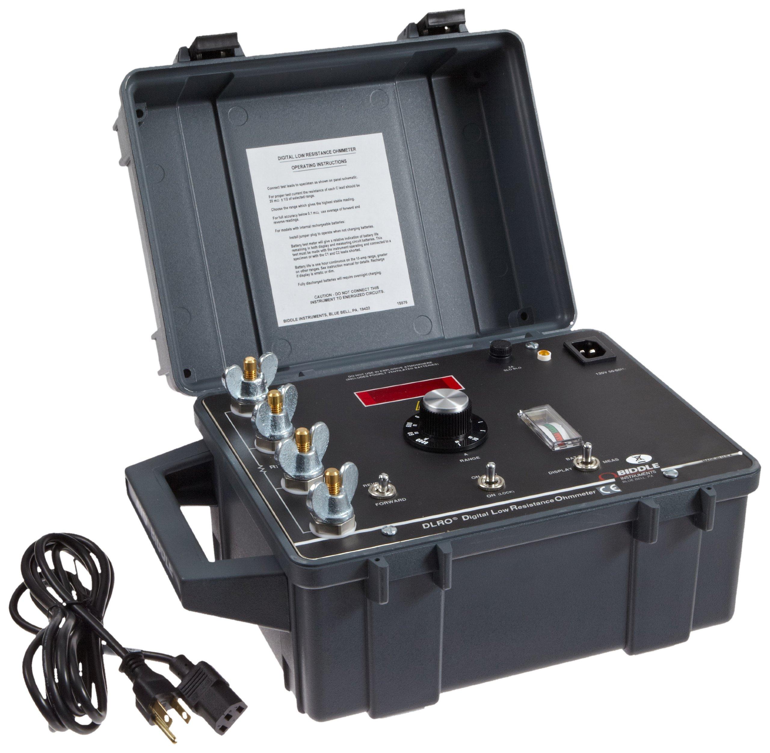 Megger 247000 Dual-Pack Digital Low Resistance