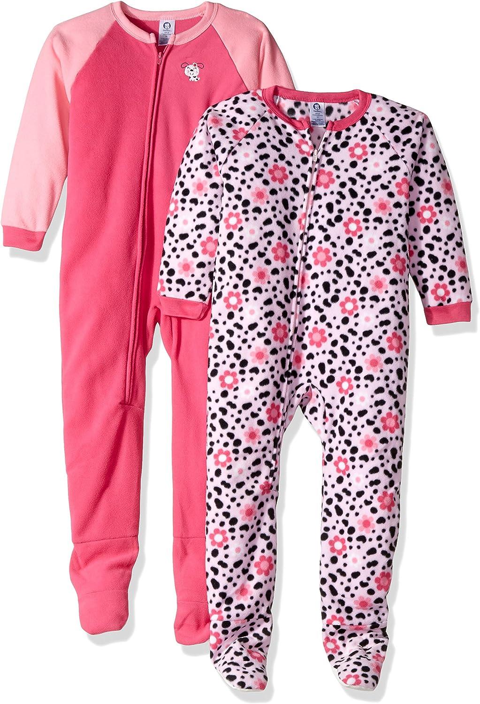 GERBER Girls 2-Pack Blanket Sleeper