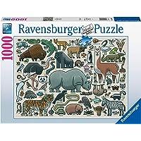Ravensburger 1000p Puzzle Vahşi Hayvan