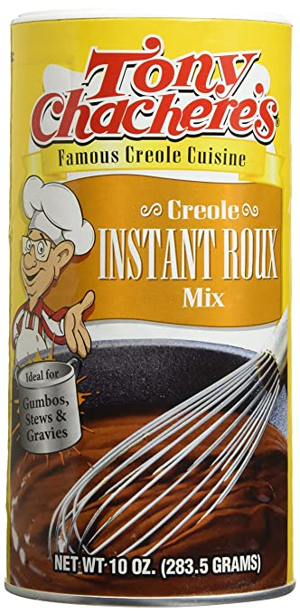 Tony Chachere's Creole Instant Roux Mix 10 Oz (pack of 2)