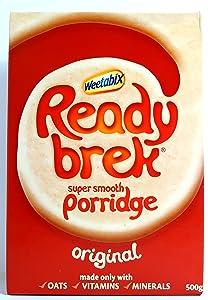 Ready Brek Instant Porridge milled oats Mix. Just add hot milk and serve 450g / 15.9oz British breakfast cereal box