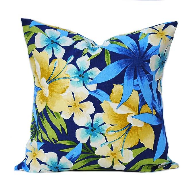 Amazon.com: Dos fundas de almohada Tommy Bahama, decoración ...