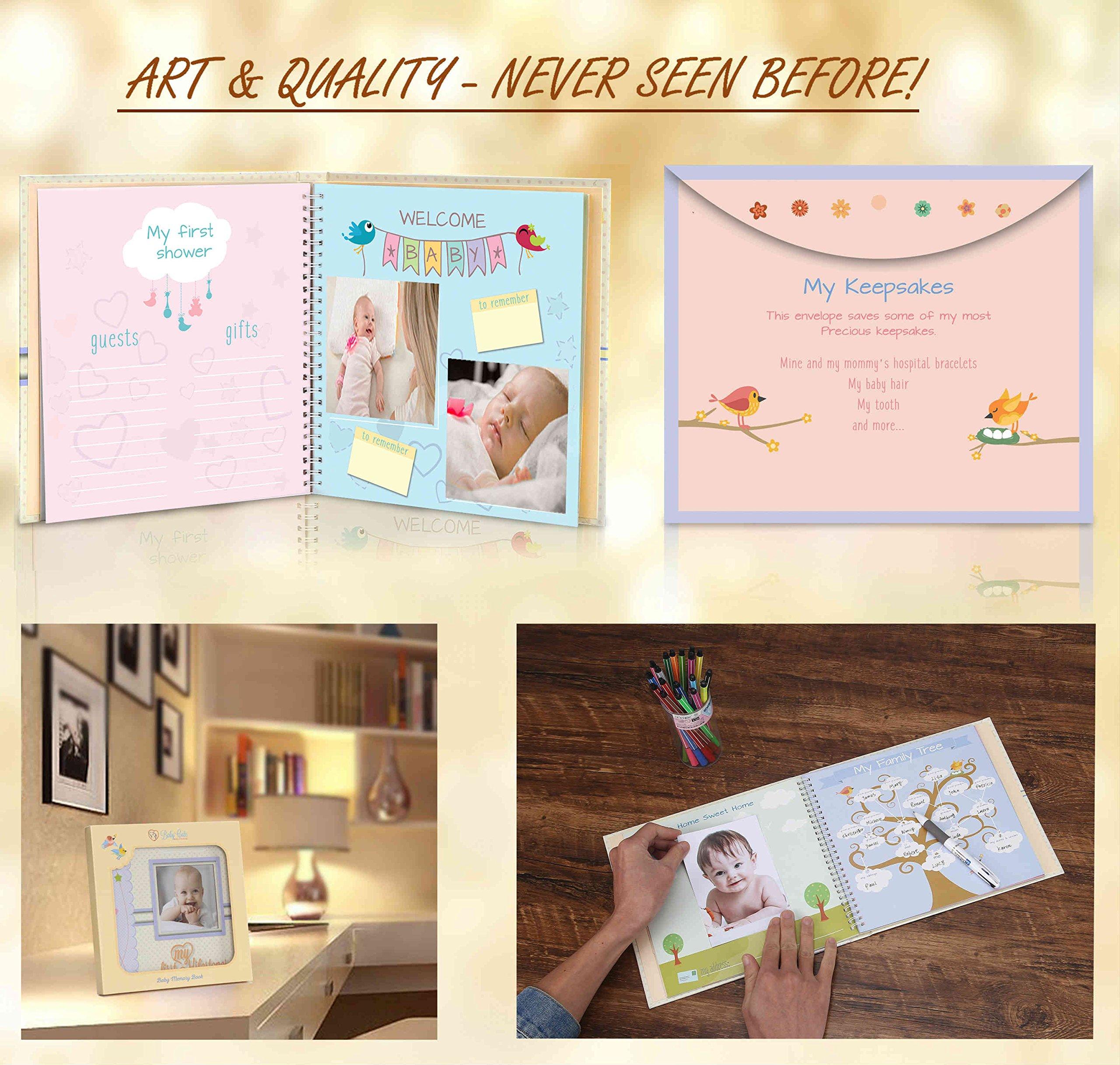 Baby memory book - Pack of 3