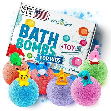 Amazon.com: Bombas de baño hechas a mano para niños con ...