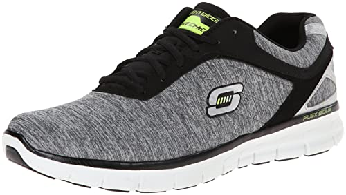 Skechers Synergy Instant Reaction 51189 LGBK - Zapatillas de lona para hombre: Skechers: Amazon.es: Zapatos y complementos