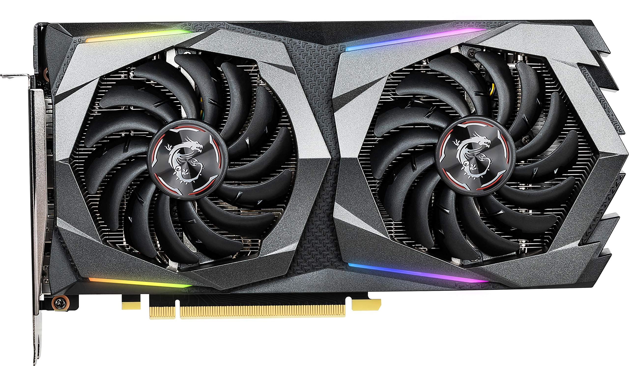 MSI Gaming GeForce GTX 1660 Ti 192-bit HDMI/DP 6GB GDRR6 HDCP Support DirectX 12 Dual Fan VR Ready OC Graphics Card (GTX 1660 TI Gaming X 6G) by MSI (Image #2)