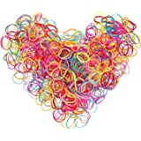 eBoot Multi Color Hair Holder Hair Tie Elastic Rubber Bands for Baby Girls, 2000 Pieces