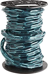 """Campbell PS0332027 Low Carbon Steel Straight Link Coil Chain in Reel with Green Sleeve, 2/0 Trade, 0.19"""" Diameter, 60' Length, 520 lbs Load Capacity"""
