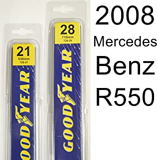 "product image for Mercedes Benz R550 (2008) Wiper Blade Kit - Set Includes 28"" (Driver Side), 21"" (Passenger Side) (2 Blades Total)"