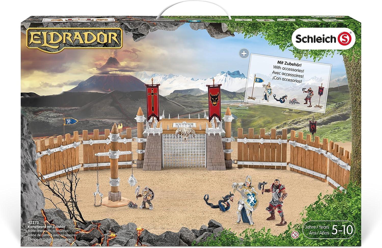 Schleich 2542273 Arena da Combattimento con Accessori