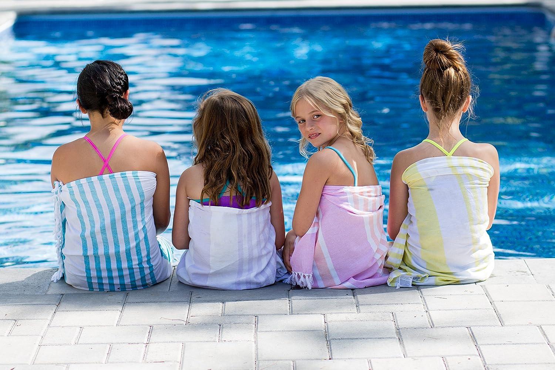 Lulujo beb/é toalla de turco Ocean Blue