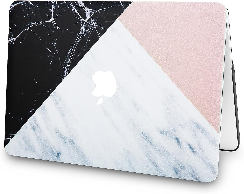 Lamina Protectora Antiguos MacBook Pro 13.3 Retina Ultra Delgado Pl/ástico {A1502//A1425} M/ármol Blanco Rosa Negro KECC MacBook Pro Retina 13 Pulgadas Funda Dura Case w//EU Cubierta Teclado