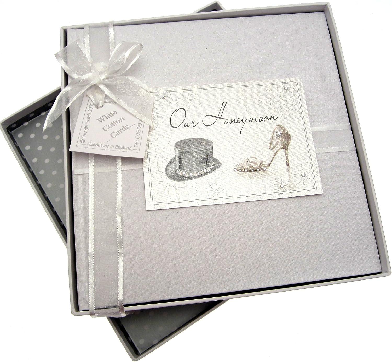 White Cotton Cards Wedding Bliss Certificate Holder
