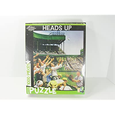 Heads Up 1,000 Piece Baseball Scene Jigsaw Puzzle by Go! [Toy]: Toys & Games [5Bkhe0804206]