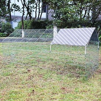 Conejera Jaula conejos Corral conejos Animales pequeños Mascotas Corralito Chinchillas Cobayas: Amazon.es: Productos para mascotas