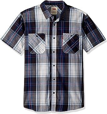 Levis Hombre 3LYSW11262 Manga corta Camisa de botones - Blanco - XX LARGE: Amazon.es: Ropa y accesorios