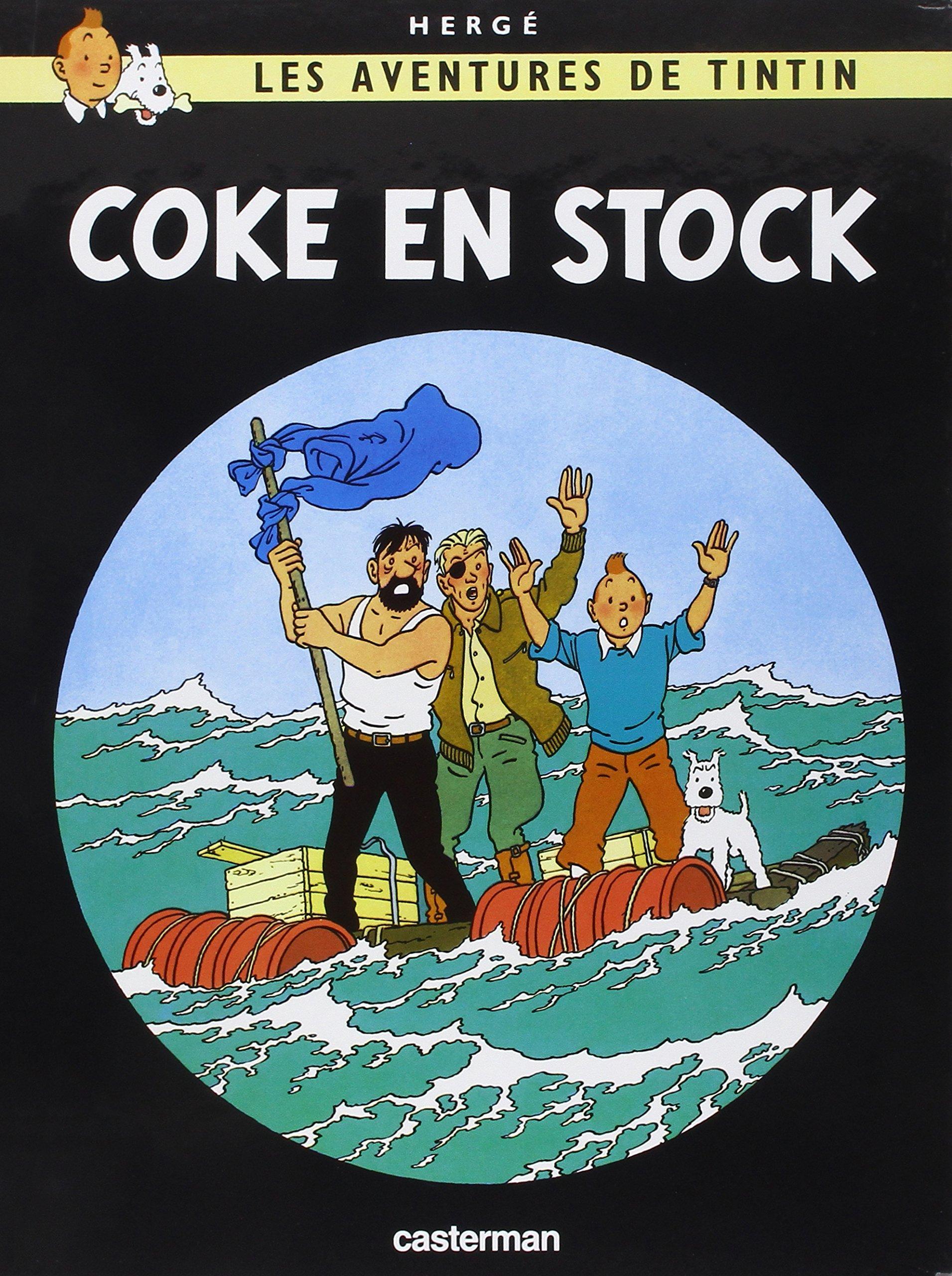 Les avenrures de Tintin The Red Sea Sharks (FR)(French Edition) (Les Aventures De Tintin)