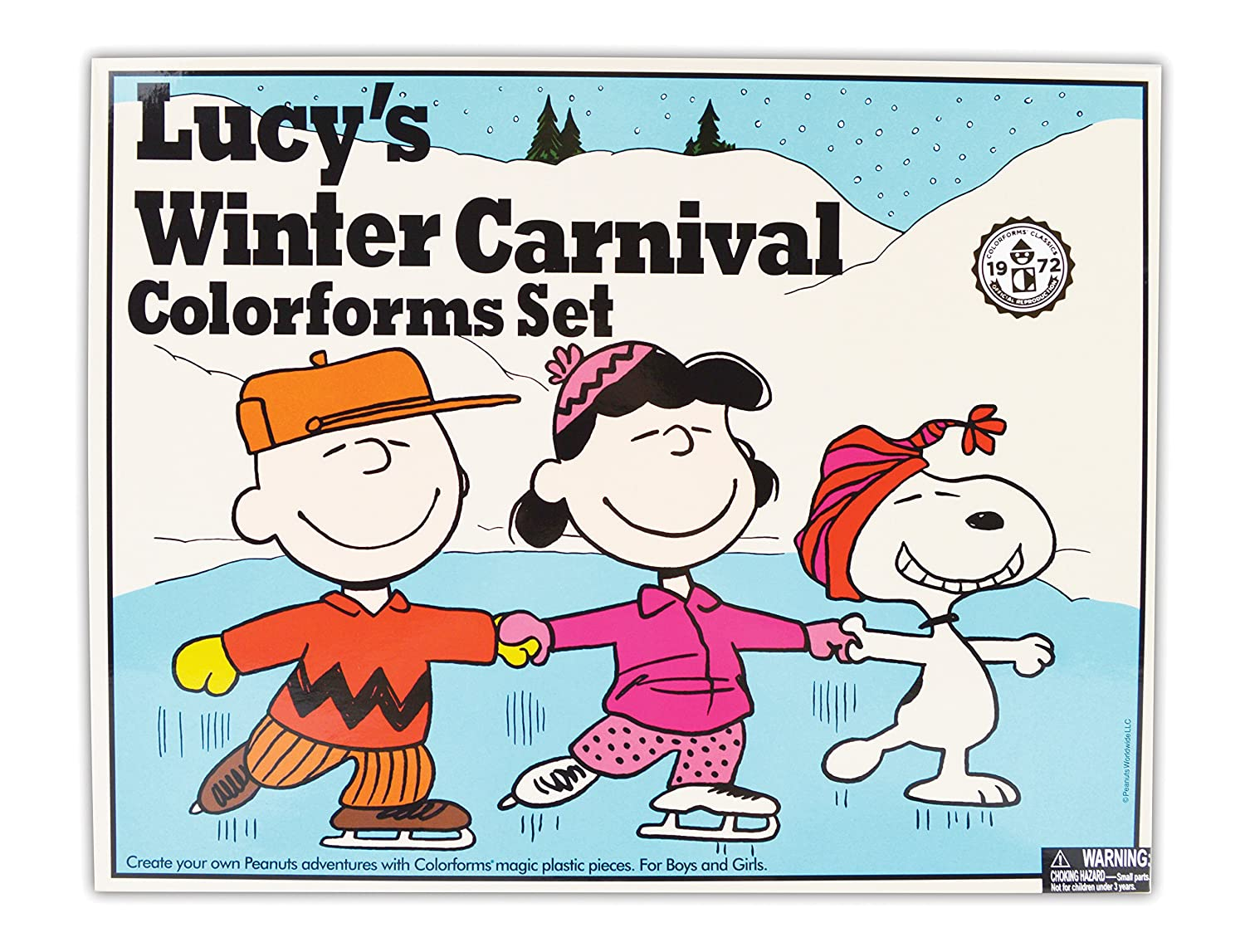 Colorforms Retro Lucy s Winter Carnival