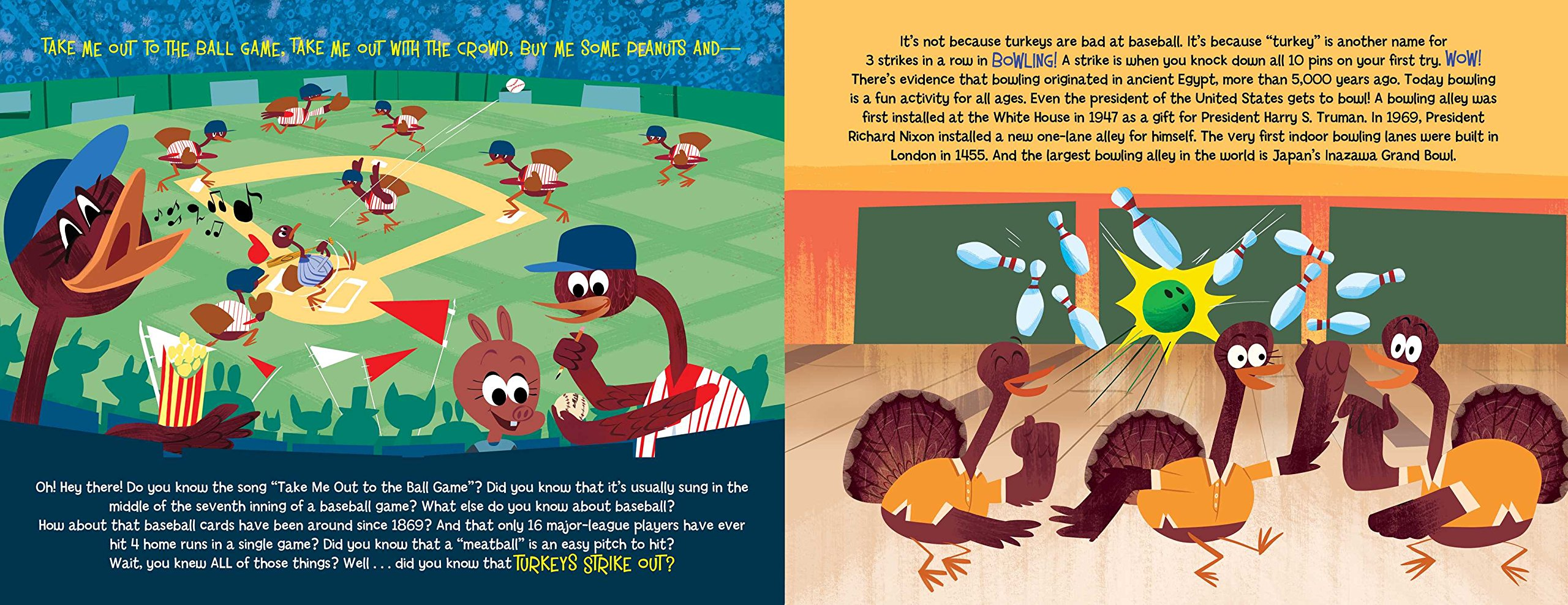 Turkeys Strike Out: and other fun facts (Did You Know?): Hannah Eliot, Aaron Spurgeon: 9781481451680: Amazon.com: Books