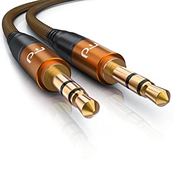Primewire - 5m AUX Kabel / Klinkenkabel 3,5mm |: Amazon.de: Elektronik