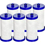 6 Pack Waterdrop WF1CB Replacement for Electrolux, Sears, Frigidaire WF1CB, WFCB, RG100, NGRG2000, Kenmore 9911 Refrigerator Water Filter