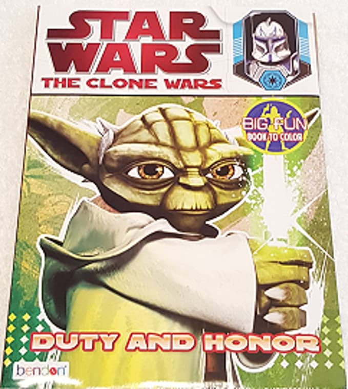 Amazon.com: Star Wars Coloring Stickers Set ~ The Clone Wars ...