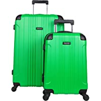 """Kenneth Cole Reaction Out Of Bounds 2-Piece Hardside 4-wheel Spinner Luggage Set: 20"""" Carry-On & 28"""" Checked Suitcase…"""